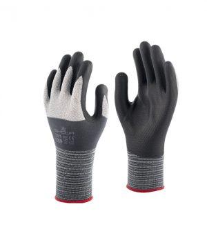 Showa 381 Nitrile Foam grijs/zwart, 6-S